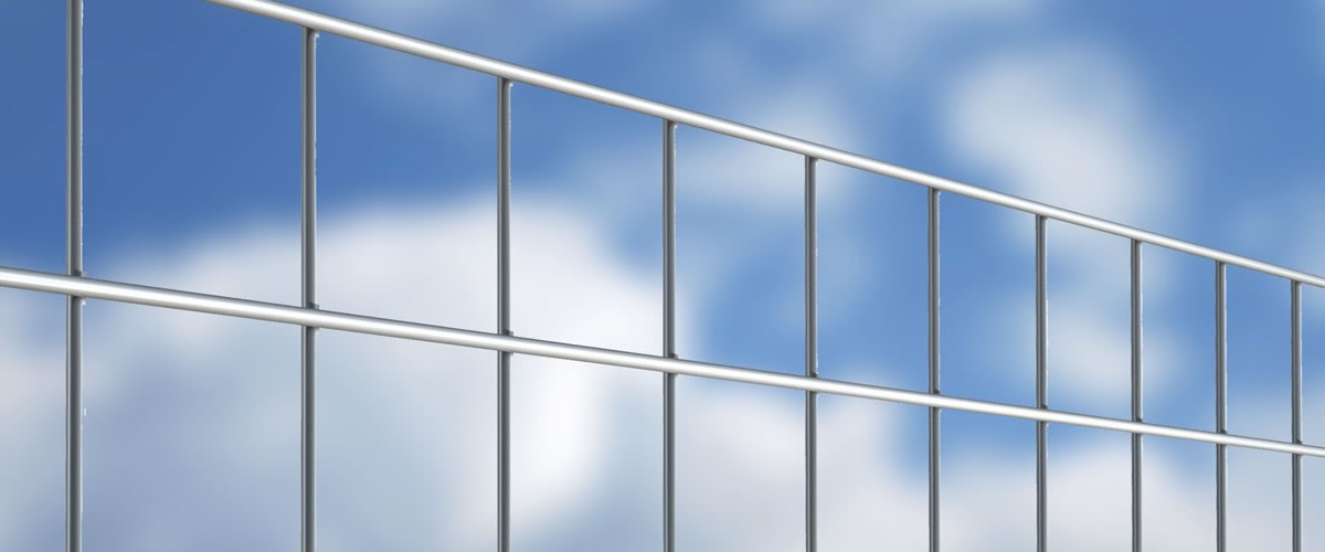 Masterfort Galvanized Wire Welded Mesh Security wire fencing for security, residential, industrial fences